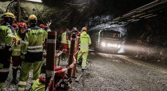 Volvo – Camião autónomo em mina