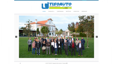 Tisoauto – Novo website