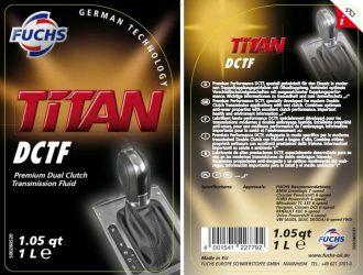 Fuchs. Novo óleo Titan DCTF
