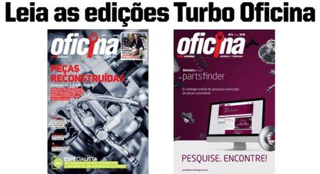 Turbo Oficina 73 – Peças reconstruídas em destaque