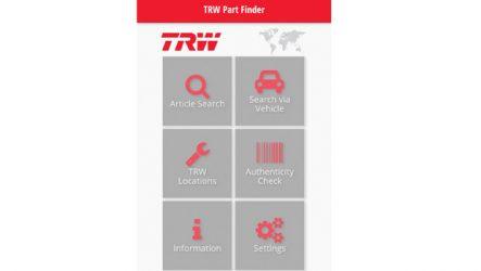 TRW. Nova aplicação móvel para procura de peças