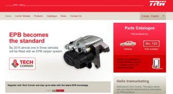TRW. Tech Corner reforça posicionamento digital da marca