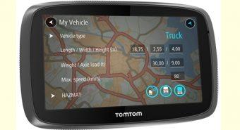 TomTom. Lança Trucker 5000