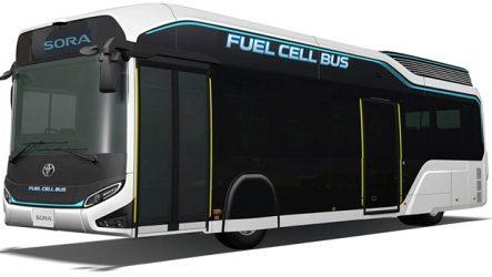Toyota – Autocarro fuel cell apresentado no Salão de Tóquio