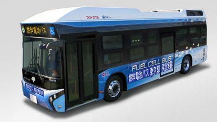 Toyota – Autocarro fuell cell em 2017