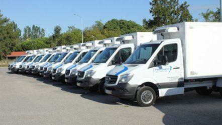 Mercedes-Benz – 80 veículos para Transportes Paulo Duarte