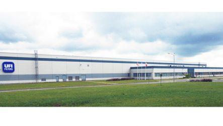 UFI Filters. Novo centro de produção na República Checa