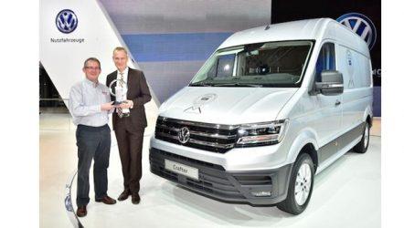 "Volkswagen – Nova Crafter eleita ""Veículo Comercial do Ano 2017"""