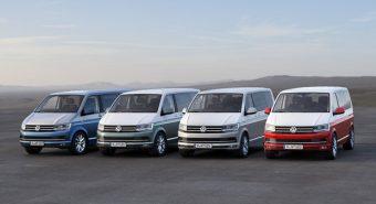 Volkswagen. Sexta Geração da Transporter apresentada