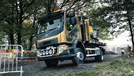 Volvo. Novo FL 4×4 para ambiente urbano e fora de estrada