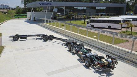 Volvo – Maior autocarro do mundo lançado no Brasil