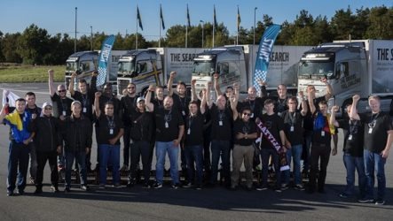 "Volvo Trucks – Motorista checo vence final do ""The Driver's Fuel Challenge"""