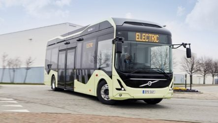 Volvo. Autocarros elétricos na Bélgica