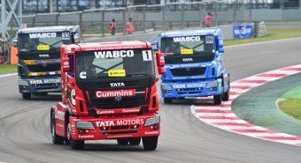 Wabco. Participa no Campeonato de Camiões Tata T1