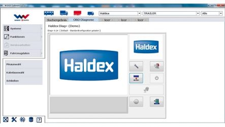 WABCOWÜRTH – Sistema de diagnóstico multimarca com software da Haldex