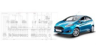 Autodata. Com mais 190 esquemas elétricos para todos os Ford Fiesta
