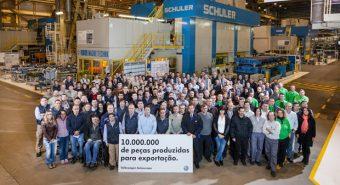 Autoeuropa. Fábrica portuguesa já exportou 10 milhões de peças