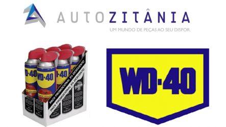 Autozitânia. Iniciou a comercialização de WD-40