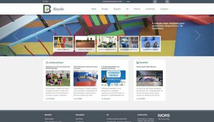 Biosafe. Disponibiliza novo website