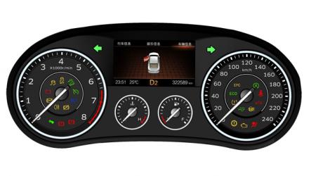 Continental – Fornece painel de instrumentos para o Borgward BX7
