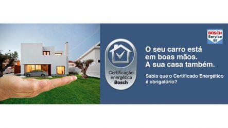 Bosch Car Service. Classifica energeticamente a sua casa