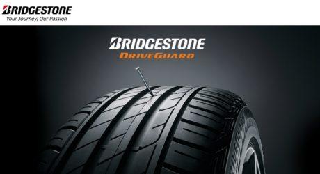Pneus DriveGuard da Bridgestone eleitos Produto do Ano