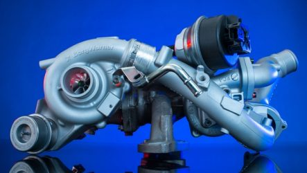 BorgWarner. Turbo no novo motor Ford
