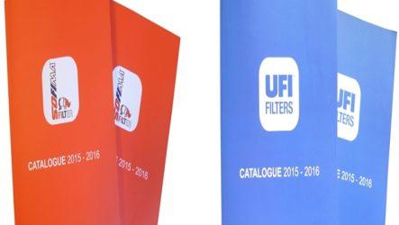 UFI Filters e Sofima Filter. Novos catálogos