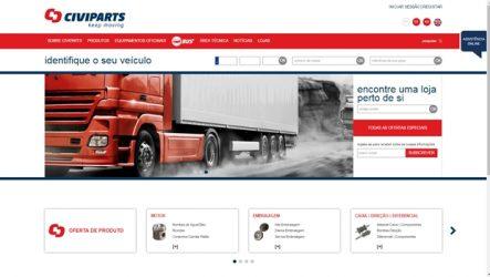 Civiparts – Novo portal online