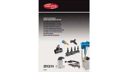 Delphi. Lança catálogo de eletrónica 2013 / 2014
