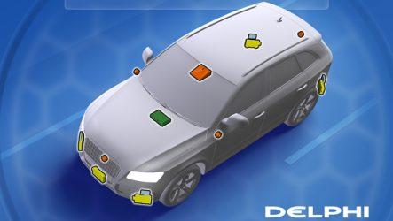 Delphi – Parceria com Mobileye para desenvolver sistema autónomo