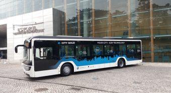 CaetanoBus – e.City Gold testa em Coimbra
