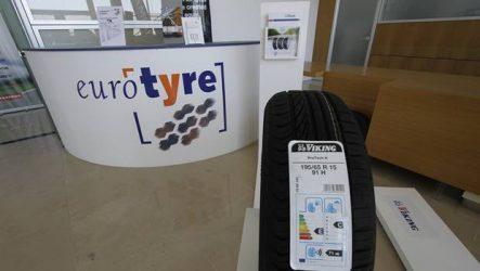 Euro Tyre. Novo serviço de entrega de pneus até 6 vezes ao dia