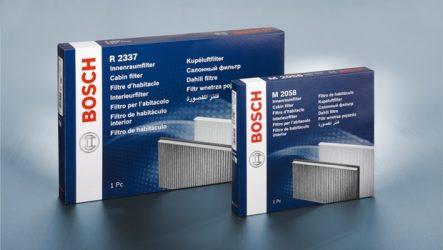 Bosch – Filter+ para combater as alergias
