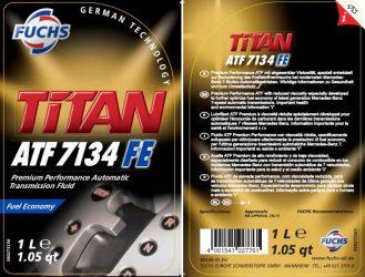 Fuchs. Novo Titan ATF 7134 FE