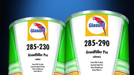 Glasurit. Novos primários Primer Filler Pro