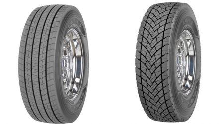 Renault. Aposta nos pneus de pesados KMAX e FUELMAX da Goodyear