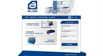 Alea. Novo site