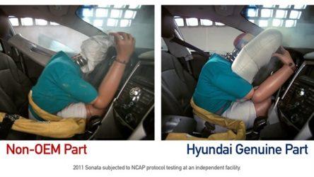 Hyundai. Campanha contra peças contrafeitas
