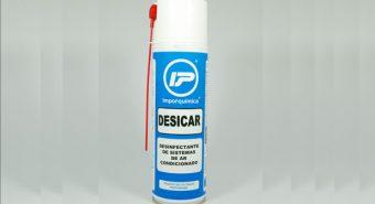 Imporquimica. Apresenta desinfectante de sistemas de Ar Condicionado automóvel