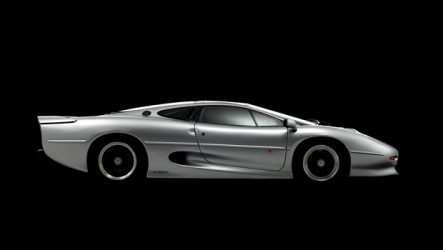 Bridgestone – Novos pneus para o XJ220 em desenvolvimento