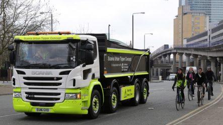 Scania – Cabina P oferece melhor proteção para peões e ciclistas