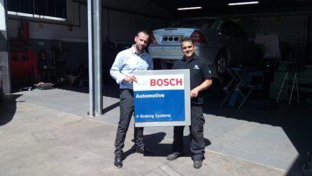 Leirilis. Certificada mais uma oficina Bosch Braking Systems