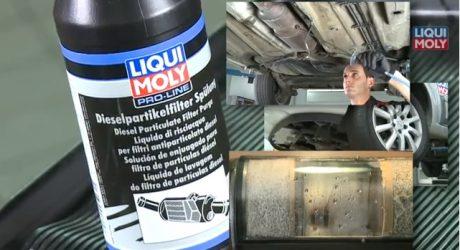 Liqui Moly. Limpar o filtro de partículas em vez de o substituir