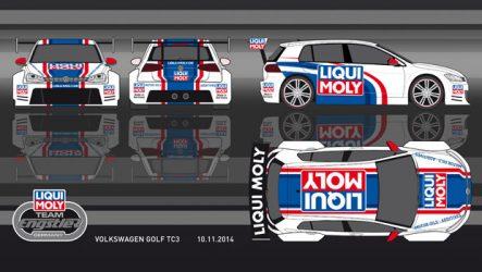 Liqui Moly. Continua a apostar no desporto automóvel em 2015