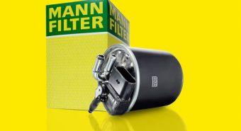 Mann-Filter. Apresenta novo filtro diesel para o aftermarket