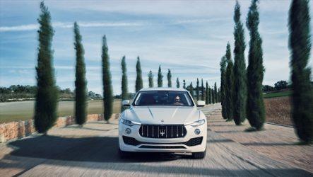 Bridgestone – Dueler H/P Sport no Maserati Levante