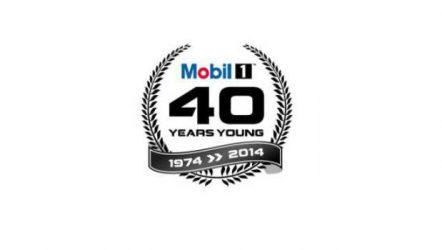 Mobil. Parabéns pelos 40 anos do Mobil 1