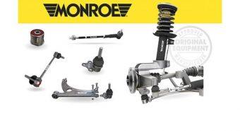 "Monroe. Adiciona 400 novos componentes ""undercar"""