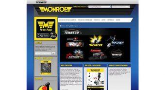 Monroe. Com novo website mundial